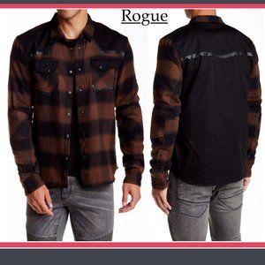 Rogue Men's Plaid Long Sleeve Regular Fit Shirt